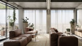 Seven brand-new Melbourne apartments and townhomes within 450m from a train station