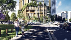 Charter Hall submits DAs for Brisbane CBD riverfront site