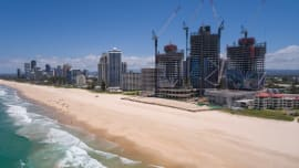 Gold Coast crane watch: Crane numbers decline over the last six months
