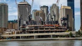 Brisbane sees biggest crane jump since 2014