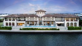 Record $32 million auction bid rejected for Sovereign Islands waterfront mansion
