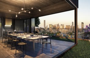 Four Rothelowman apartment developments currently selling in Queensland