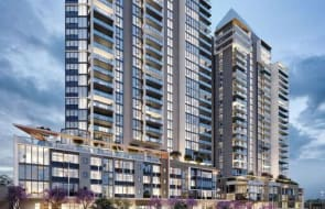First tower in new Canning Bridge property development