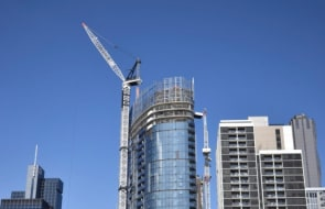 Malaysia's UEM Sunrise tops out first Melbourne tower