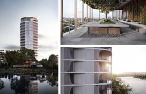Construction starts on 160 Macquarie, St Lucia's first riverfront apartments in a decades