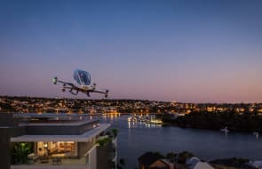 Taskers final stage to host Australia's first autonomous passenger drone landing station on top of luxury Perth apartments