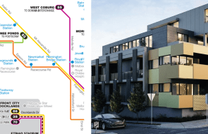 Melbourne's development by tram: the 55
