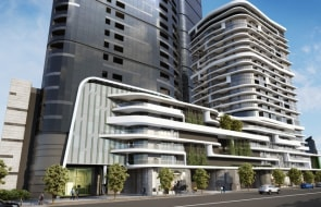 Tall towers pushed to Melbourne's CBD fringe