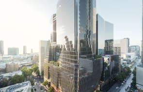 Cox, Gensler design two-tower office development for Melbourne's Collins Street