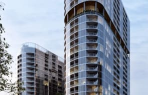 DA lodged for two towers at Woden Town Centre bus interchange