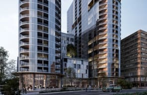 Buyers rush Grand Central Towers development in Woden