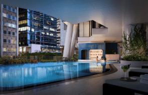 The Westin Brisbane hotel opens its doors, featuring Brisbane's first swim-up pool bar