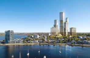 'Big Applecross': High rise aspiration for exclusive riverside suburb
