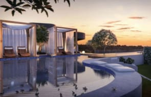 Melbourne's first suspended sky pool: A look at the amenities at Hawthorn Park in Hawthorn East