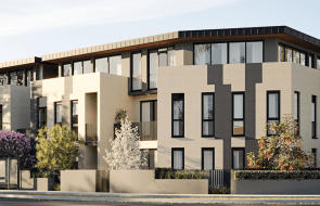 Equus apartments inspire modern, vibrant living in quiet, leafy surrounds.