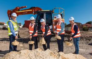 Construction starts on Sabina Apartments, Applecross