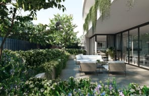 Seeking your own tranquil garden retreat? Discover Mirvac's exclusive final release of apartments, FORME, at Tullamore