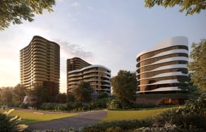 Fridcorp celebrate significant construction milestone for Beyond Hurstville