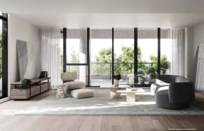 Inside the apartment floorplans of near sell-out Thomas Street at Moonee Valley Park
