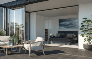 Eight brand-new Sydney apartments and townhomes within 500m from a train station