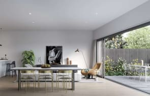 Inside the floorplans at Haven Townhomes in Keysborough