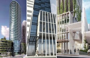 Five South Melbourne projects jockey for approval