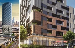 Blue Earth's Fishermans Bend skyscraper moves to construction, Ivanhoe approaching launch