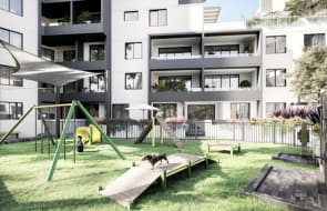 Lotus Residences, Hurstville apartments offering communal dog park