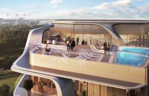 Zaha Hadid's Melbourne skyscraper revealed