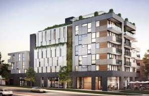 New riverside Footscray apartments listed from $525,000 at Moreville