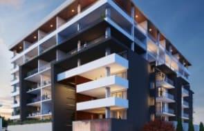 Apartment development anticipating early finish
