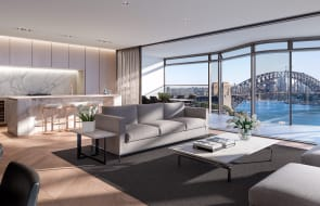Apartment listed for sale in Sydney's sold-out Opera Residences