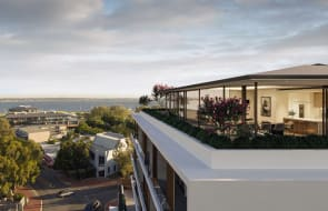 Bordered by Swan River foreshore: How Rivean Residences fit in to Perth's affluent Nedlands