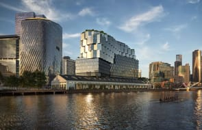 Four university campuses within walking distance of Docklands' Seafarers