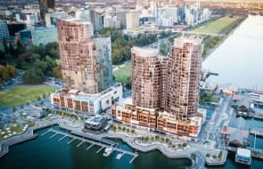 Invest in Perth's most prestigious riverside city precinct, The Towers at Elizabeth Quay
