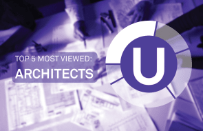 Urban's Top 5 for October -  Most Viewed Architects