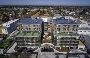 Construction complete at Oakleigh's new Pellicano development, Alke