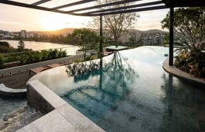 Aria Property Group win Master Builders awards for West End apartments Tree House, launch Trellis at South Brisbane