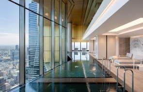 World Class Global unveils the southern hemisphere's highest twin infinity pools at landmark Melbourne development Australia 108