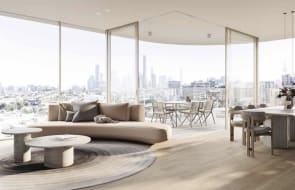 How Newstead's newest apartment development Bide is targeting the downsizer