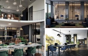 How Blue Earth Group are revolutionising the co-working space at Ivanhoe Gardens apartment development