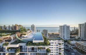 Esprit, S&S Projects new Rainbow Bay, Coolangatta apartments to feature Gold Coast's first rooftop wellness centre