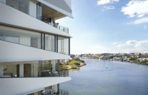 Check out one of East Brisbane's last riverside apartment developments