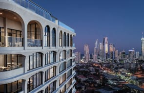 Chevron Island set for New York-inspired apartment tower Greenwich