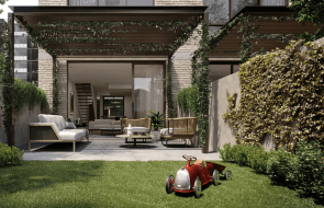 Only two townhouses remain at Lendlease's new Gramercy Terraces in Richmond