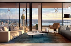 Greenland Centre sub-penthouse off the plan resale
