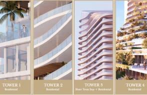 First look exclusive: Gurner reveals $1.25 billion, four-tower Surfers Paradise apartment development La Pelago