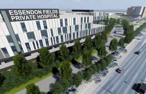 A new hospital underpins the surge of development within Essendon Fields