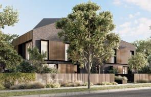 Townhouse development Robinson in Hawthorn's Scotch Hill precinct nears completion