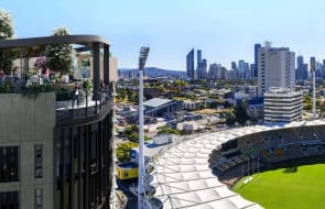 Silk One, Woolloongabba's front row apartments to the 2032 Olympics